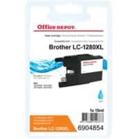 Kompatible Office Depot Brother LC1280XLC Tintenpatrone Cyan