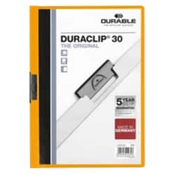 DURABLE Klemmmappe Duraclip A4 Orange