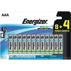 Energizer Batterien Eco Advanced AAA 12 Stück