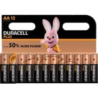 Duracell Batterie Plus Power AA 12 Stück