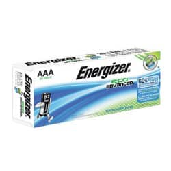 Energizer Batterien Eco Advanced AAA AAA 20 Stück