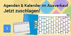 Agenden & Kalender im Ausverkauf - Jetzt zuschlagen!