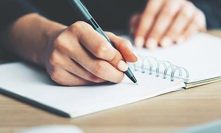 Schreiben, Korrigieren, Kleben