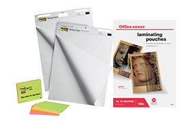 Full assortment of visual communication products